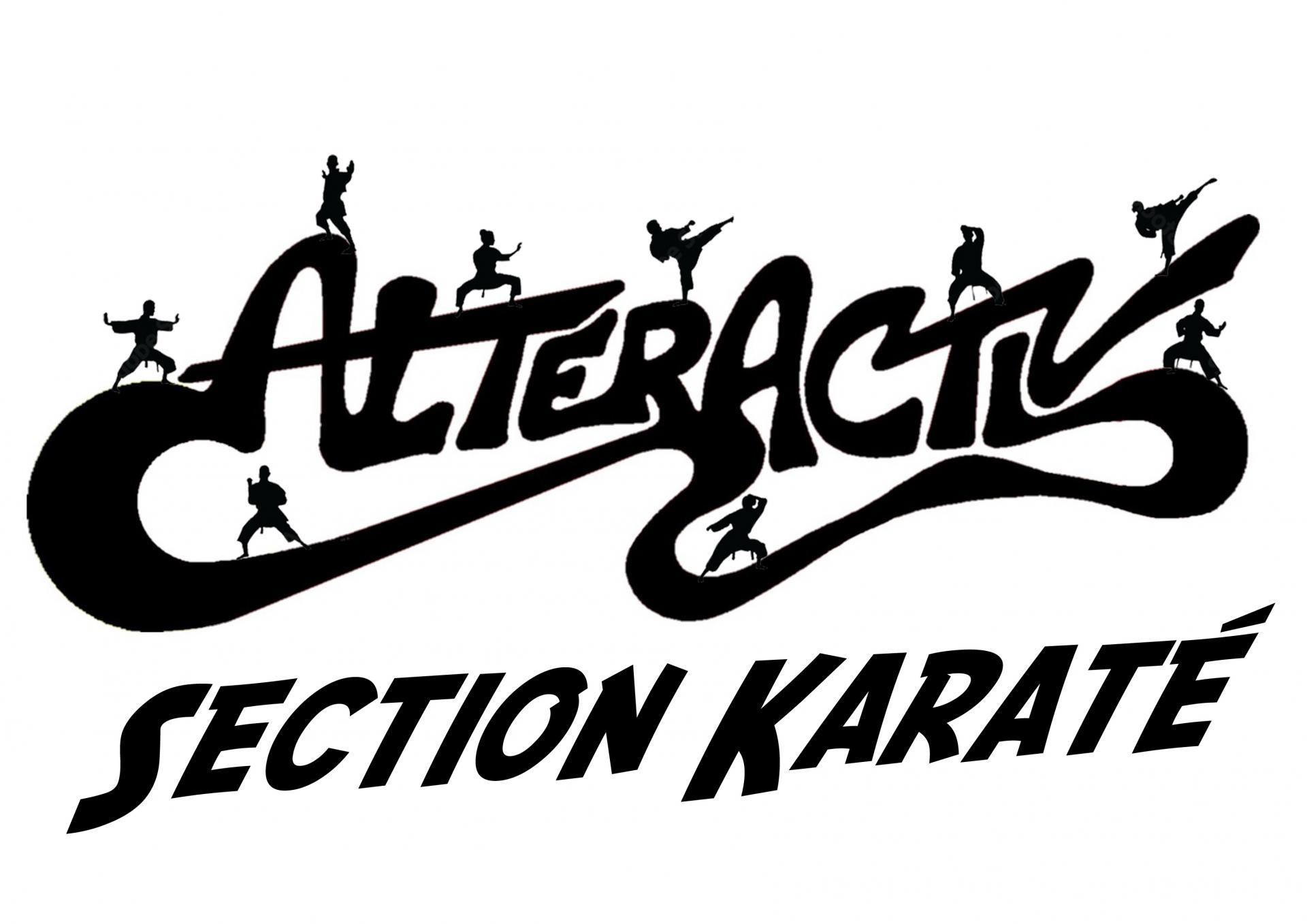 Alteractiv section karate logo